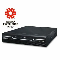 Planet H.265 36-Ch Network Video Recorder with 8-Bay Hard Disks