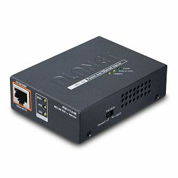 Planet Single-Port 10 100 1000Mbps 802.3bt PoE Injector (60 Watts)