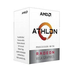 Procesor AMD Athlon 200GE 2C/4T (3.2GHz,5MB,35W,AM4) box, with Radeon Vega Graphics