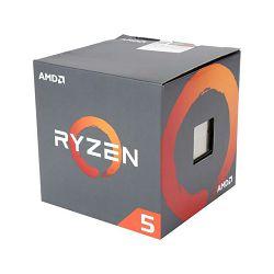 Procesor AMD Ryzen 5 1500X 4C/8T (3.6/3.7GHz Boost,18MB,65W,AM4) box, with Wraith Spire 95W cooler