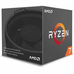 Procesor AMD Ryzen 7 1800X BOX, s. AM4, 3.6GHz, 20MB cache, Octa Core