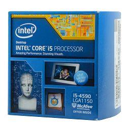 Procesor Intel Core i5 4590 (3.30GHz,1MB,6MB,84 W,1150) Box, Procesor Intel HD Graphics 4600