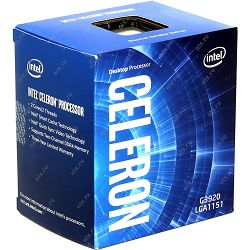 Intel CPU Desktop Celeron G3920 (2.9GHz, 2MB, LGA1151) box