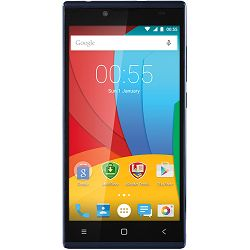 "Prestigio GRACE Q5 5.0"" HD On-cell, Dual SIM, Android 5.1, Quad Core 1,3GHz, 1280*720, 8GB ROM, 1GB RAM, 5.0+8.0Mpx with flash lights , 3200 mAh with NTC, Blue"