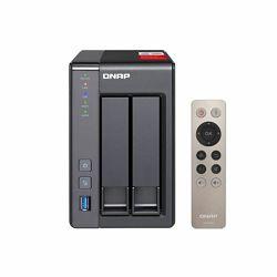 QNAP TS-251 J1900 Ethernet LAN Tower Grey NAS