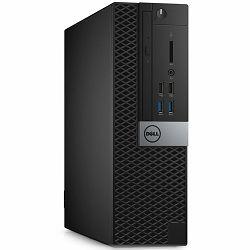 Računalo DELL Optiplex 3046 Small Form Factor, Intel Core i3-6100( (Dual Core, 3MB, 4T, 3.7GHz, 65W), 4GB (1x4G) DDR4, 256 SSD, Intel HD, DVDRW, RJ-45, DisplayPort, HDMI, 4xUSB2.0, 4xUSB3.0