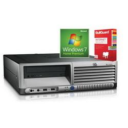 Računalo HP DC7700SFF C2D E6300, 2048, 80, DVDRW + W7Home