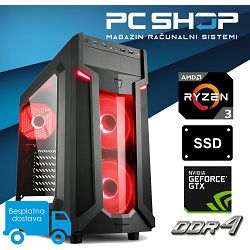 Računalo MagazinRS (AMD Ryzen 3 1200 3.10 GHz, GTX 1060 3GB, 8GB DDR4 RAM, SSD 480GB)