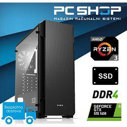 Računalo MagazinRS Gamer Ryzen 3 1200 3.10 GHz, GTX 1650, 8GB DDR4 RAM, SSD 240GB