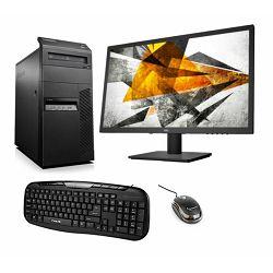 Lenovo RFB M83 Tower G3220 4GB 500GB HDD W7P AOC E2275SWJ tipk miš