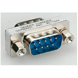 Roline adapter DB9 M,M (mini Gender Changer)