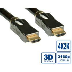 Roline HDMI Ultra kabel sa mrežom, HDMI M - HDMI M, 2.0m