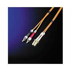 Roline optički mrežni kabel LC-SC, 50,125 duplex, 1.0m