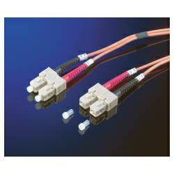 Roline optički mrežni kabel SC-SC, 62.5,125 duplex MM, 1.0m