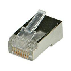 Roline STP konektor RJ-45 8,8, ravni (pakiranje 10 kom.)