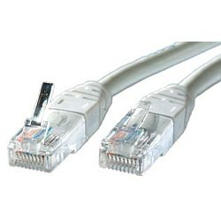 Roline UTP mrežni kabel Cat.5e, 1.0m, sivi