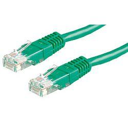 Roline UTP mrežni kabel Cat.5e, 1.0m, zeleni