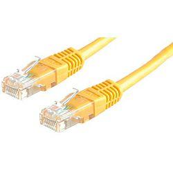 Roline UTP mrežni kabel Cat.5e, 1.0m, žuti
