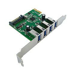 Roline VALUE Kontroler 4×USB3.0 port PCI-e