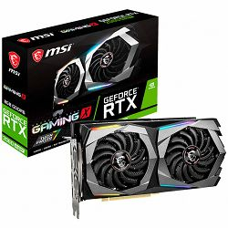 Grafička kartica MSI Video Card NVidia GeForce RTX 2060 SUPER GAMING X GDDR6 8GB/256bit, 1695MHz/14000MHz, PCI-E 3.0 x16, 3xDP, HDMI, Twin Frozr VII Cooler(Double Slot) RGB Mystic Light