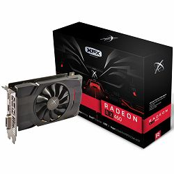 Grafička kartica XFX AMD Radeon RX 460 GDDR5 2GB/128bit, 1220MHz/7000MHz, PCI-E 3.0 x16, HDMI, DVI-D, DP, VGA cooler (Double Slot), Retail