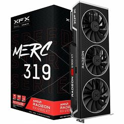 XFX Video Card AMD Radeon RX 6900XT MERC 319 BLACK 16GB 256bit GDDR6, 2340, 16000, PCI-E 4, 2x DP, HDMI, USB-C Triple Fan 3 slot