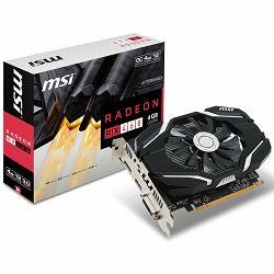 Grafička kartica MSI AMD Radeon RX 460 GDDR5 4GB/128bit, 1210MHz/7000MHz, PCI-E 3.0 x16, DP, HDMI, DVI-D, Sleeve Fan Cooler(Double Slot) Retail
