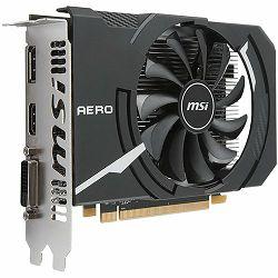 Grafička kartica MSI AMD Radeon RX 550 OC GDDR5 2GB/128bit, 1203MHz/7000MHz, PCI-E 3.0 x16, HDMI, DVI-D, Dual Fan 2X Cooler(Double Slot) Retail