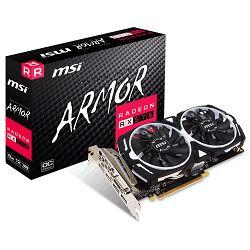 Grafička kartica MSI AMD Radeon RX 570 ARMOR 8G OC, GDDR5 256 bit, PCI-E 3.0, HDMI, DL-DVI-D, DX 12
