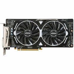 Grafička kartica MSI AMD Radeon RX 580 GDDR5 8GB/256bit, 1366/8000MHz, PCI-E 3.0 x16, 2xDP, 2xHDMI, DVI-D, ARMOR 2X Cooler(Double Slot), Backplate, Retail
