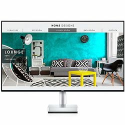 Monitor DELL S-series Ultrathin S2718D 27, 2560x1440?, QHD, IPS, 16:9, 1000:1, 8000000:1, 300cd/m2,HDR, 8ms/6ms, 178/178, HDMI, USB-C, 2XUSB 3.0, Audio line out, Tilt, Swivel, 3Y
