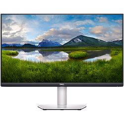 Monitor DELL S-series S2721DS 27.0in, 2560x1440, QHD, IPS Antiglare, 16:9, 1000:1, 350 cd/m2, AMD FreeSync, 4ms, 178/178, DP, 2x HDMI, Audio line out, Tilt, Pivot, Swivel, Height Adjust, 3Y