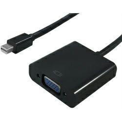 STANDARD adapter-kabel mini DP(M) na VGA(F), 0.15m