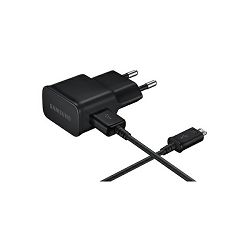 Samsung kućni punjač + micro USB kabel, crni