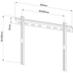 SBOX zidni stalak za TV PLB-114B