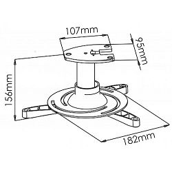 Stropni nosač projektora PM-101 15kg