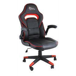 Ergonomska gaming stolica Sheba crno/crvena