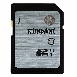 KINGSTON 16GB SDHC Class10 UHS-I 45MB/s Read Flash Card Lifetime