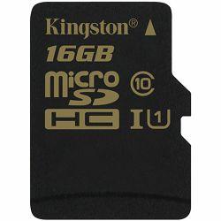 Kingston 16GB microSDHC CL10 UHS-I 90R/45W, EAN: 740617229837
