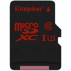 Kingston 64GB microSDXC UHS-I speed class 3 (U3) 90R/80W, EAN: 740617237009