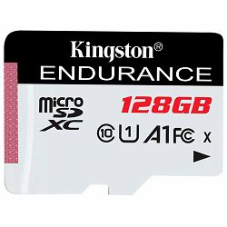 Memorijska kartica Kingston 128GB microSDHC Endurance Flash Memory Card, Class 10