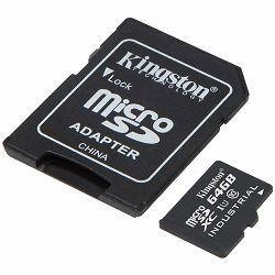 Memorijska kartica Kingston 64GB microSDHC Endurance Flash Memory Card, Class 10
