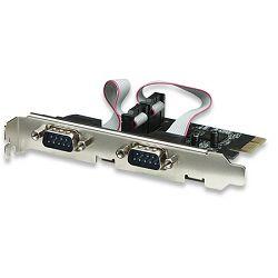 Serial PCI Express Card, One port, x1 lane