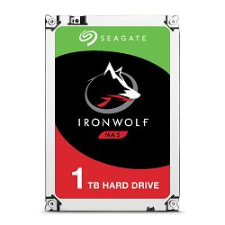 SEAGATE NAS HDD 1TB IronWolf 5900rpm 6Gb/s SATA 64