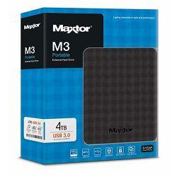 Vanji tvrdi disk Maxtor M3 4TB, USB3.0, black