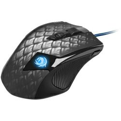 Miš Sharkoon Drakonia laserski gaming, USB, Crni
