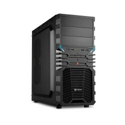 Sharkoon VG4-S Midi Tower ATX kućište, bez napajanja, crno