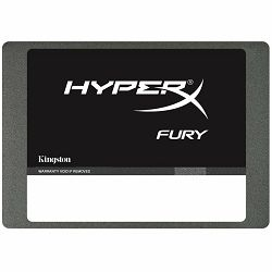 Kingston SSD 480GB HyperX FURY SSD SATA 3 2.5 (7mm height) w/Adapter, EAN: 740617253252