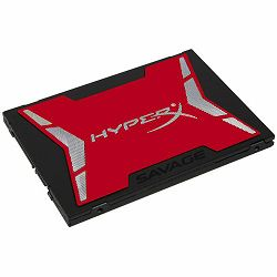 Kingston SSD 480GB HyperX SAVAGE SSD SATA 3 2.5 (7mm height), EAN: 740617239850