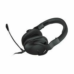 Slušalice ROCCAT® CROSS Stereo PC/Mac/PS4/Xbox One/smartphone, gamerske, crne